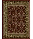 RugStudio presents Radici Usa Castello Series 1194 Burgundy Machine Woven, Good Quality Area Rug